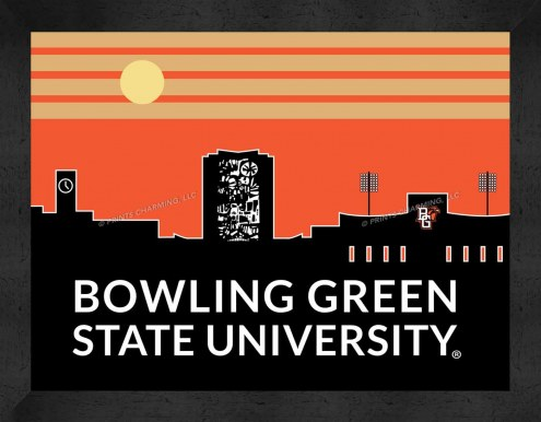 Bowling Green State Falcons Uscape Wall Decor