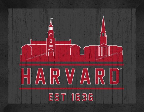 Harvard Crimson Uscape Wall Decor
