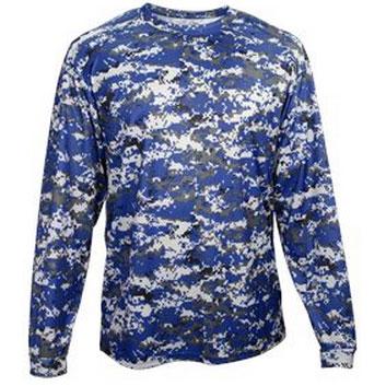 Badger Sport Adult Digital Camo Long Sleeve T-Shirt