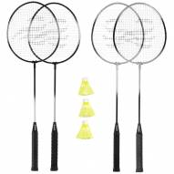 Triumph 4-Player Badminton Racket Set