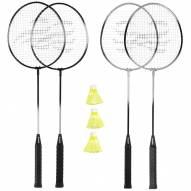 Triumph 4-Player Badminton Racket Set