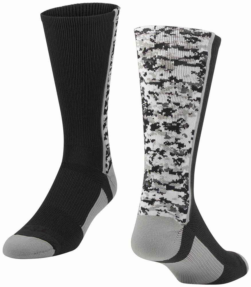 763023e97 Twin-City-Digital-Camo-Crew-Socks-New thumbnail 2