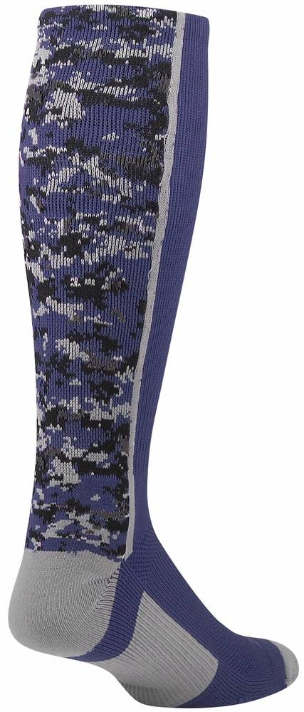 4674c2fb7 Twin City Digital Camo Knee High Socks