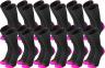 Black/Hot Pink 12 Pack
