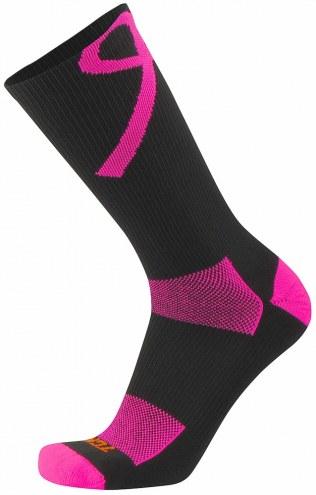 Twin City Breast Cancer Awareness Crew Socks