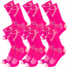 Hot Pink/Pink 6 Pack