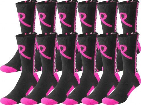 Twin City Digital Camo Breast Cancer Awareness Crew Socks