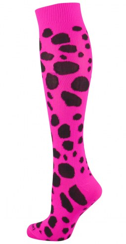 Twin City Leopard Over the Calf Socks