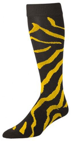 Twin City Krazisox Zebra Over-Calf Tech Socks