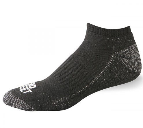 Pro Feet Funky Performance Multi-Sport Polypropylene X-Static Low Cut Socks - Size 9-11