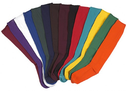 Pro Feet Solid Color Nylon Multi-Sport Team Socks
