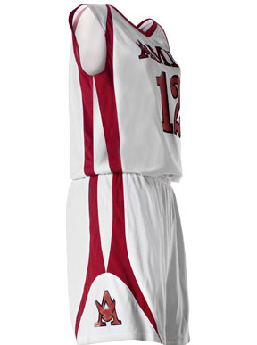 b6c2e7dd326 Alleson 54MMR Reversible Women's Custom Basketball Uniform