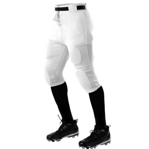 Alleson Youth Slotted Polyester Football Pants - 10 oz.