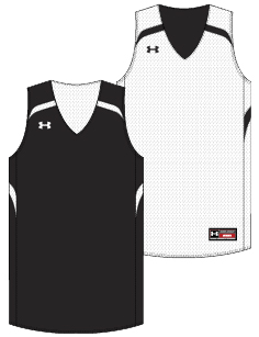 Under Armour Youth Clutch Reversible Custom Basketball Uniform