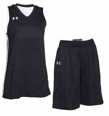 04dc144bd Under Armour Women s Drop Step Custom Reversible Basketball Uniform.  50.00
