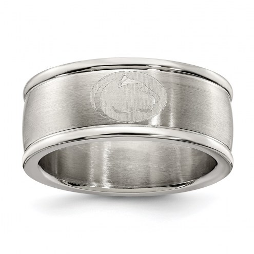 Penn State Nittany Lions Stainless Steel Logo Ring