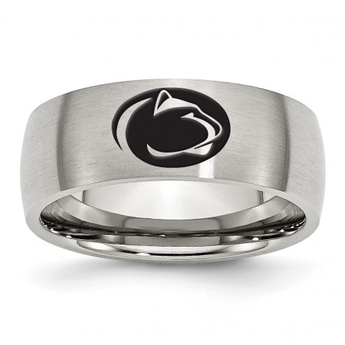 Penn State Nittany Lions Stainless Steel Laser Etch Ring