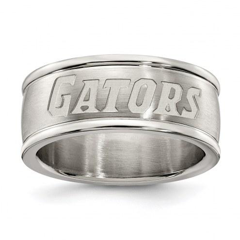 Florida Gators Stainless Steel Logo Ring