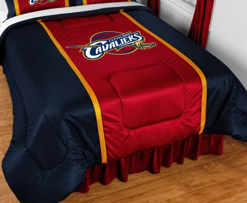 Cleveland Cavaliers Sidelines Bed Comforter
