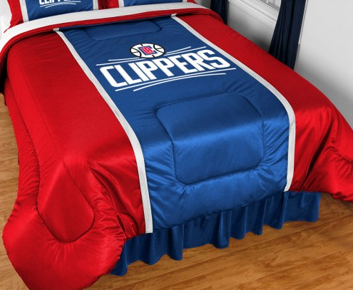 Los Angeles Clippers Sidelines Bed Comforter