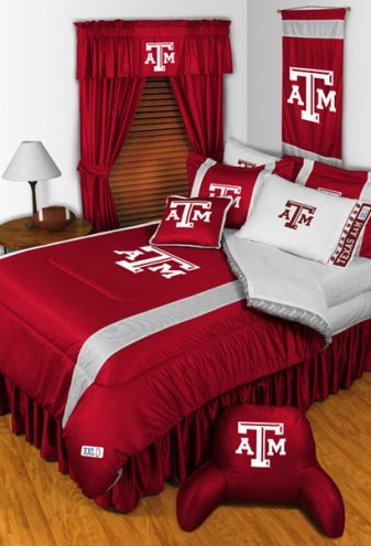 Texas A&M Aggies Sidelines Bed Comforter