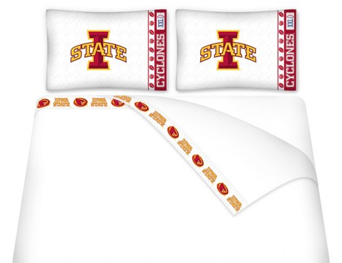 Iowa State Cyclones Microfiber Bed Sheets Set