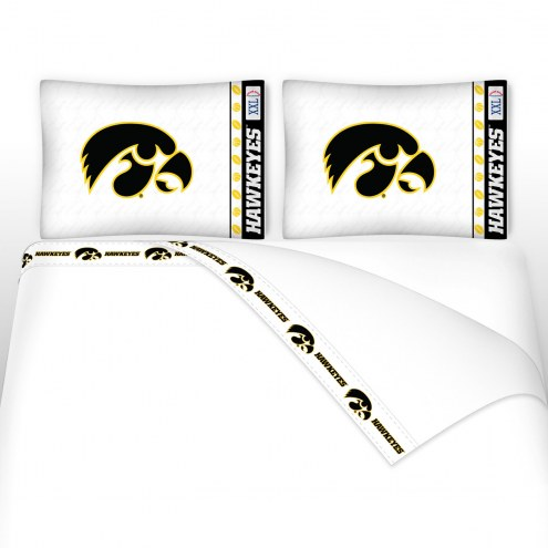 Iowa Hawkeyes Microfiber Bed Sheets Set