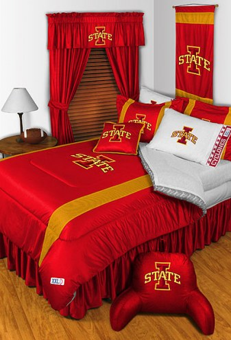 Iowa State Cyclones NCAA Sideline Bed Set
