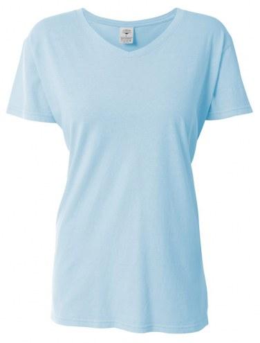 A4 Women's 5 oz. Custom V-Neck T-Shirt