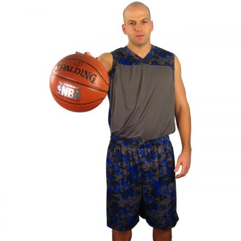 A4 N2345 Men's Camo Custom Basketball Uniform