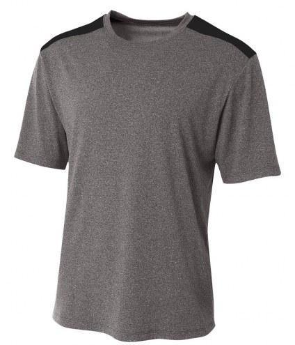 A4 Tourney Adult/Youth Short Sleeve Color Block Custom T-Shirt
