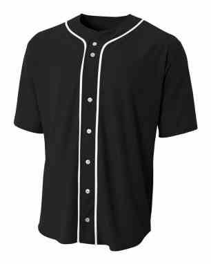 6f02ae8e0  17.00. A4 Short Sleeve Full Button Men s Custom Baseball Jersey