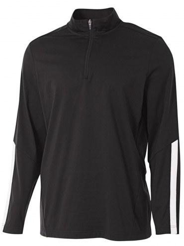 A4 Adult League 1/4 Zip Warm Up Jacket