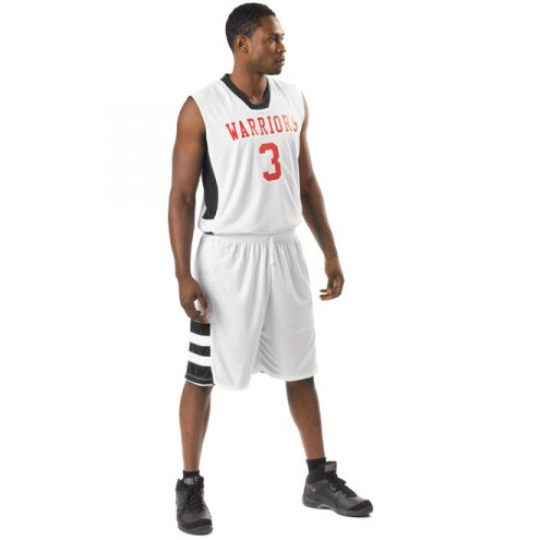 A4 Reversible Speedway Muscle Youth Custom Basketball Uniform