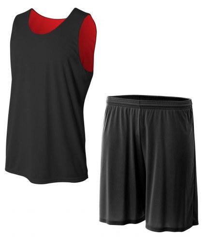 A4 Youth Reversible Jump Custom Basketball Uniform