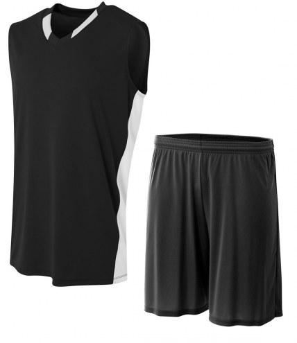 A4 Youth Backcourt Custom Basketball Uniform