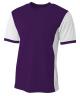 Purple/White