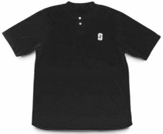 A4 Tek 2 Button Youth Baseball Henley