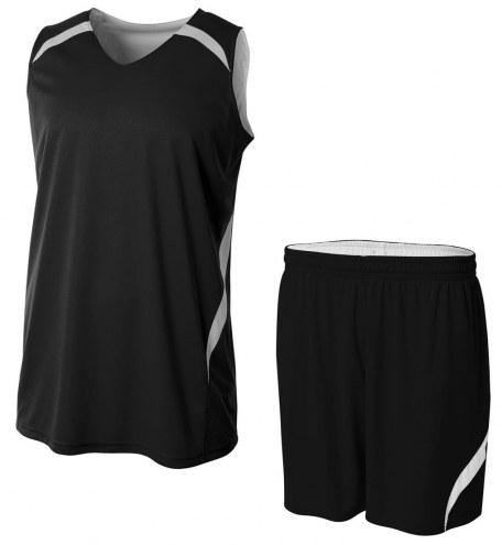 A4 Youth Reversible Double Double Custom Basketball Uniform