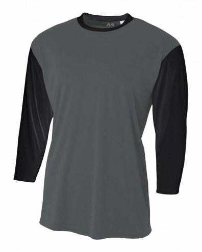 A4 Youth 3/4 Sleeve Utility Shirt