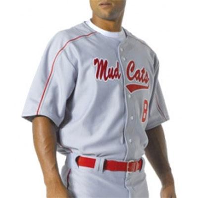 A4 Youth Warp Knit Baseball Jersey