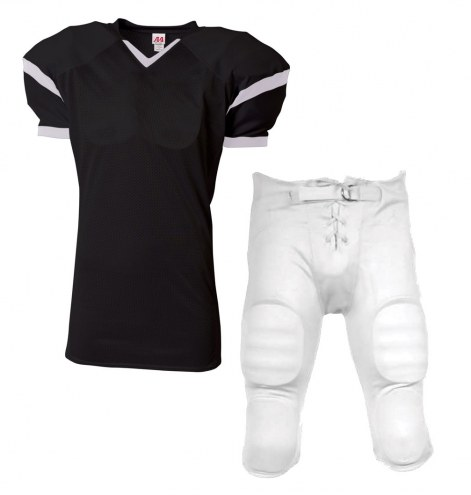 A4 Rollout Youth Custom Football Uniform with Integrated Football Pants