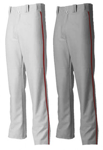 A4 Pro Style Open Bottom Baggy Cut Youth Baseball Pants