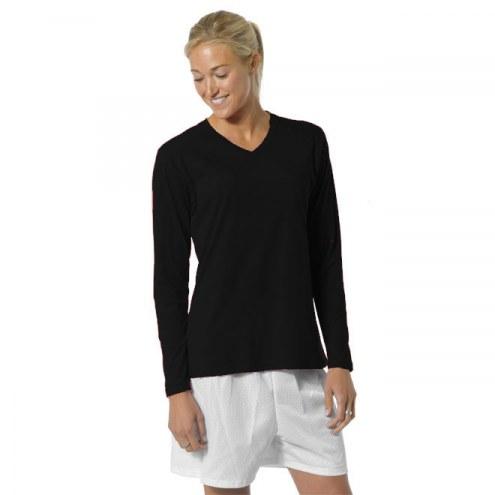 A4 Women's Fusion Cotton Long Sleeve Crew