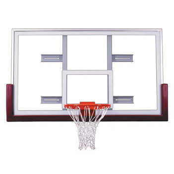 First Team COMPETITOR Gymnasium Basketball Backboard Package