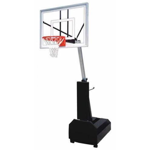 First Team FURY TURBO Portable Adjustable Basketball Hoop