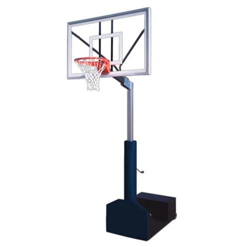 First Team RAMPAGE NITRO Portable Adjustable Basketball Hoop