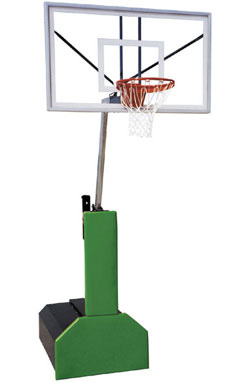 First Team THUNDER PRO Portable Adjustable Basketball Hoop