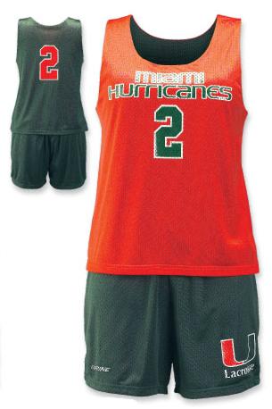 Brine Reversible Women's Practice Lacrosse Uniform - Stock Colors