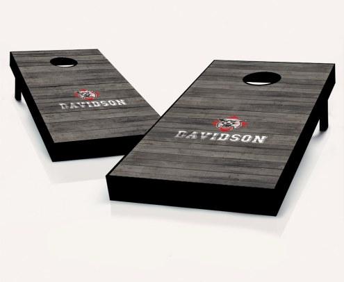 Davidson Wildcats Cornhole Board Set